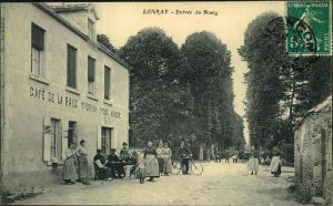 Entrée du bourg (collection Claude Gesbert)