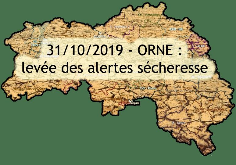 Octobre 2019 : Sécheresse dans l'Orne