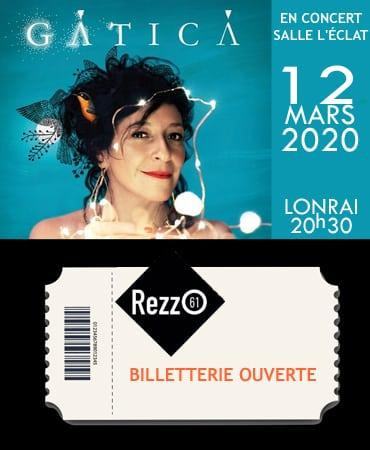 Concert – GATICA – 12 mars 2020
