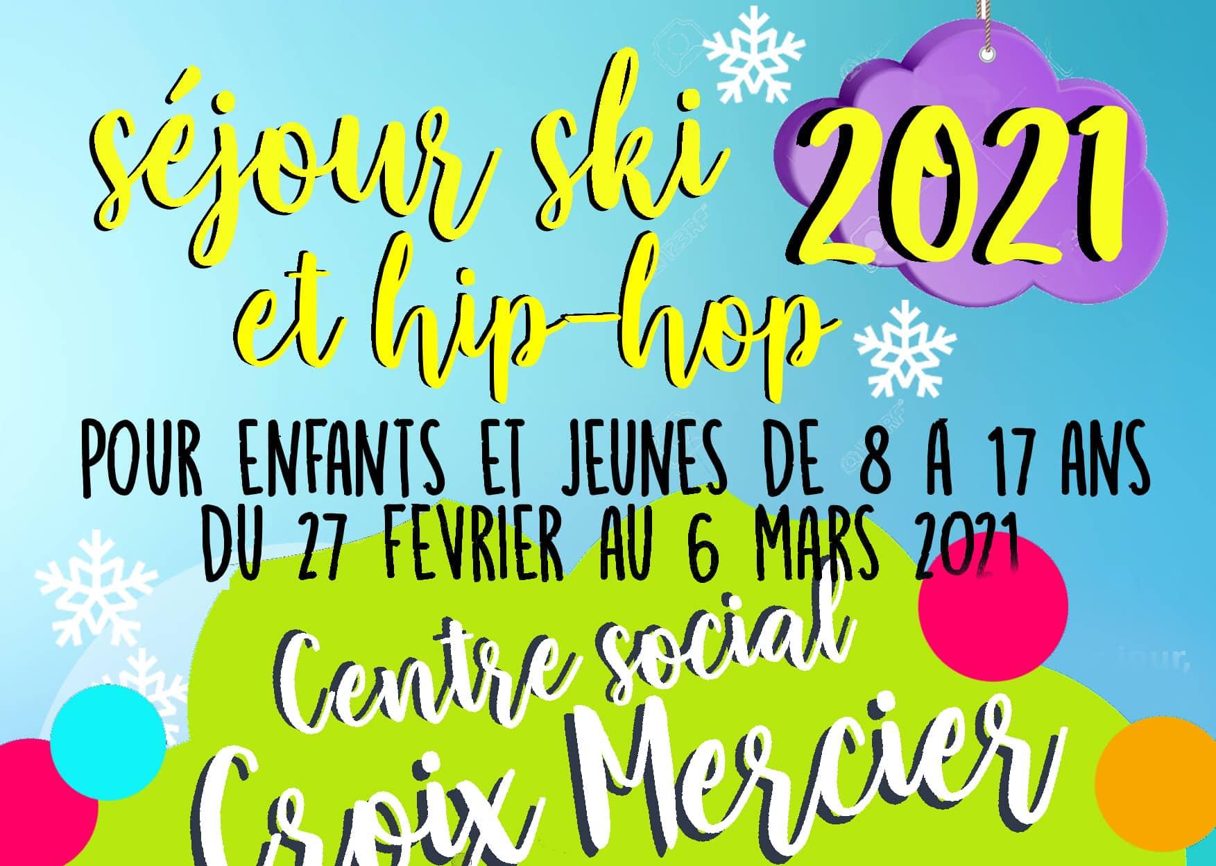Séjour ski et hip hop pour les enfants de 8 à 17 ans à Saint Gervais les Bains
