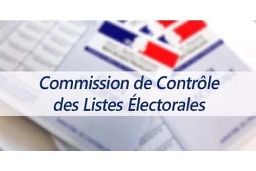 Membres de la commission de contrôle chargée de la régularité des listes électorales