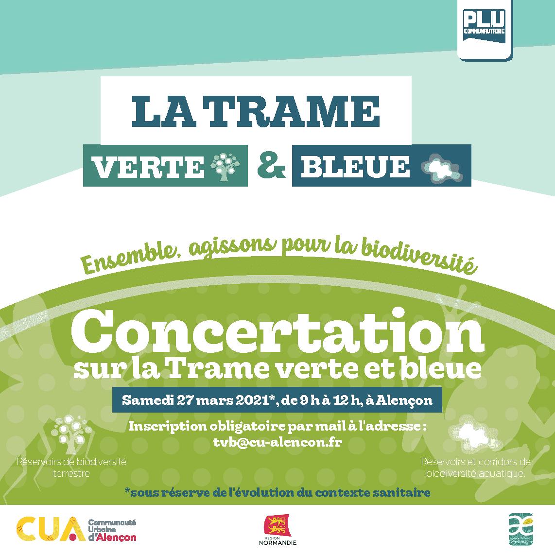 CUA : Concertation Trame Verte et Bleue