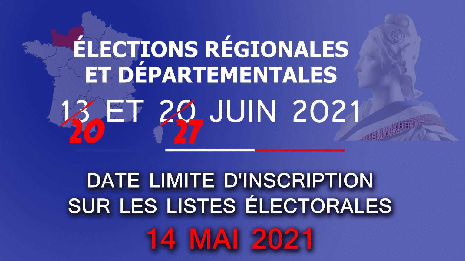 Élections départementales et régionales : peut-on encore s'inscrire et voter en 2021 ?